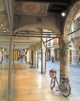 Frescoed arcades