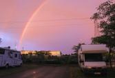 Twilight rainbow