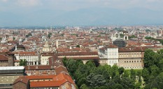Looking across Piazza San Carlo