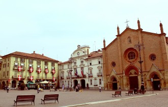 Palazza Civico and Collegiata di San Secondo