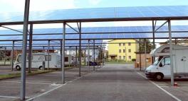 Solar Farm camping