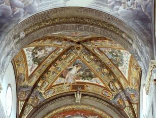 Under Corregio's dome