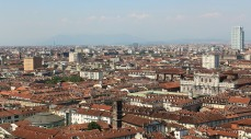 Turin rooftops