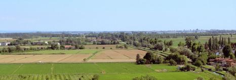 View to lagoon and Grado