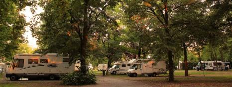 Camping at Harkány