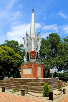 Commemorating members of the Red Army