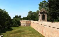 Szigetvár fortress walls