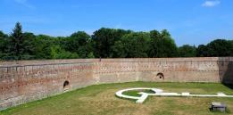 Walking the walls at Szigetvár
