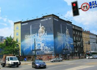 Urban living as advertising space