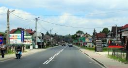 Village advertising boards