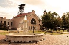 Wieliczka in the evening sunshine
