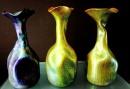 Zsolnay Seccession vases