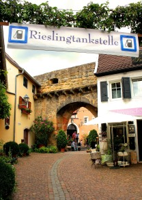 Riesling from a pump