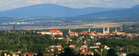 Zittau from the Czech border