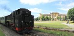 Zittau steam train to the Spitz