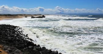 Along the Atlantic coast