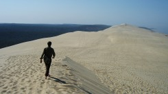 On top of the dune