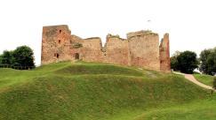 Bauska castle ruins