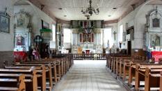 Inside Berzoras church