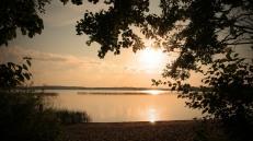 Sunset over Lake Plateliai
