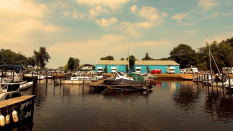 Zwolle Marina - home for the night