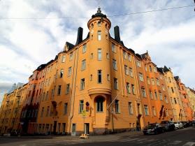 Art Nouveau apartments