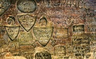 Cave inscriptions dating back to 1600s