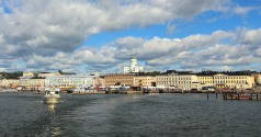 Helsinki from the water
