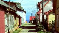 Kallaste wooden houses