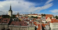 Looking across to Toompea