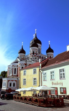 Orthodox Cathedral view