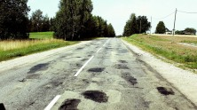 The bumpy road out of Latvia