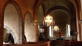 Heda Church interior
