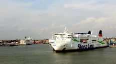 Ferry out of Trelleborg