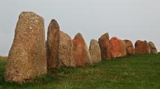 Ales Stenar granite boulders