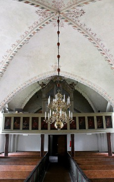 Inside Herrestad Church