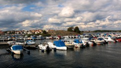 Karlskrona Marina and Stakholmen view