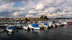 Karlskrona Marina and Stakholmen view