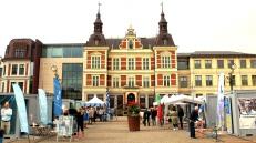 Kristianstad Radhus in main square