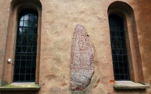 Runestone at Heda Church