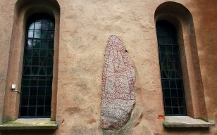 Runestone at Heda Church
