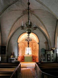 Vaversunda church interior