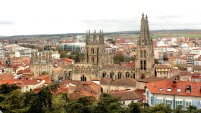 Above the Old Town of Burgos