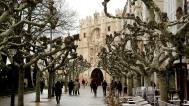 A grand entrance into Burgos through Arco de Santa Maria