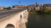 Tordesillas Treaty Houses across the Rio Duero
