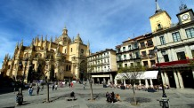 Cathedral and Plaza Mayor