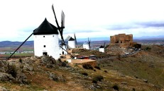 Consuegra windmills and castle