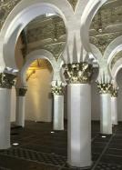 Inside synagogue of Santa Maria la Blanca