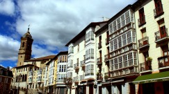 Vitoria's miradores and balconies