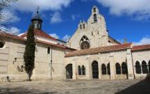 Palencia monastery courtyard